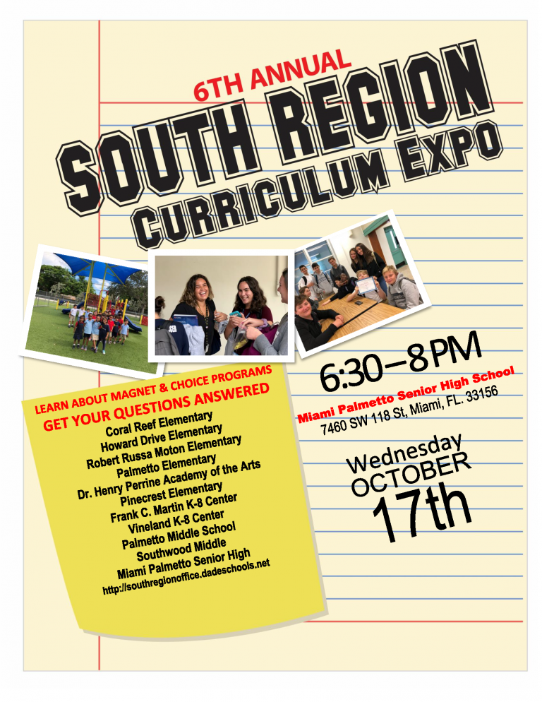 Palmetto Curriculum Expo