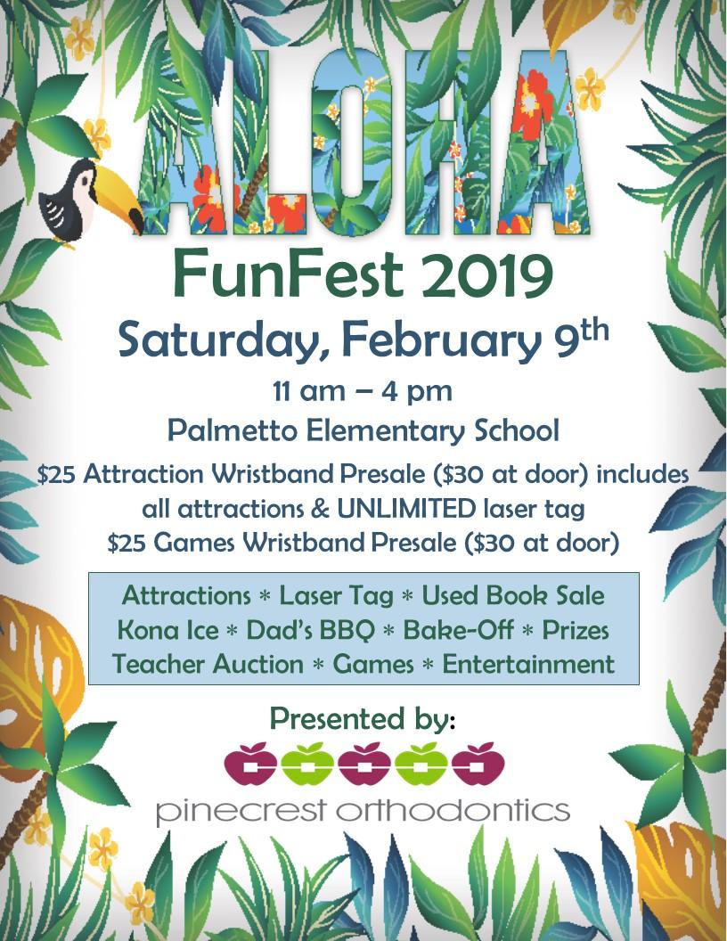 Fun Fest 2019 @ Palmetto Elementary